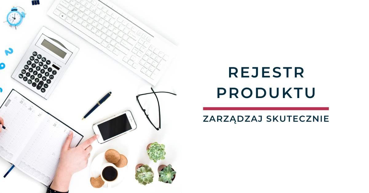 Rejestr Produktu
